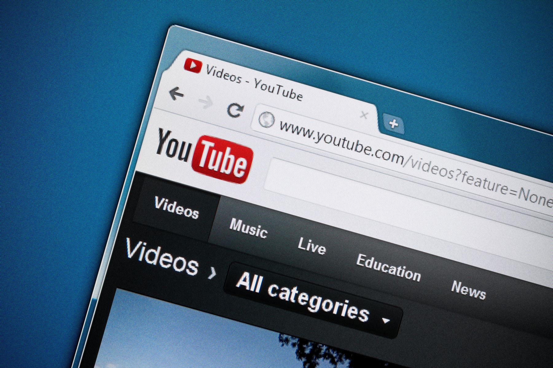 YouTube anahtar kelime kullanimi